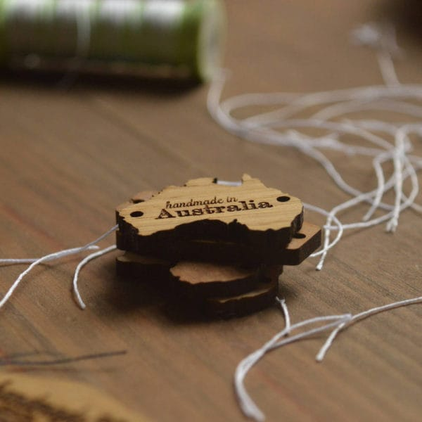 custom wooden tags-australis