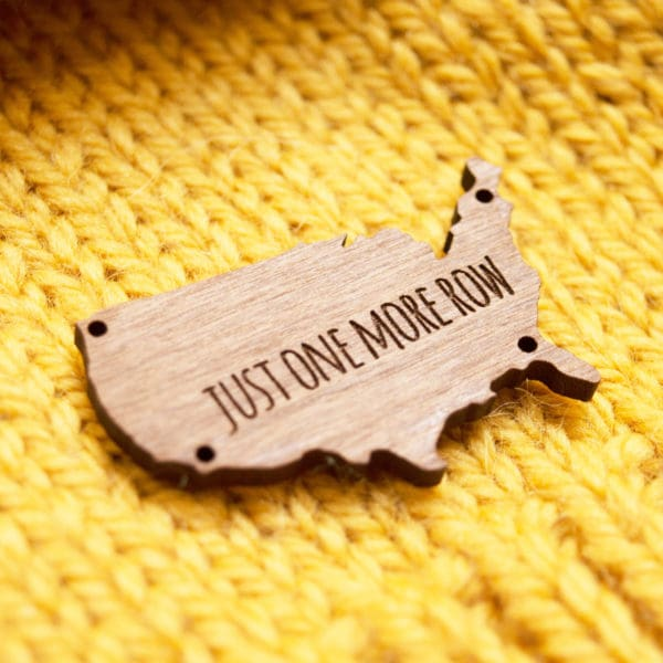 Custom wood tags
