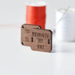 Custom Wooden Tags