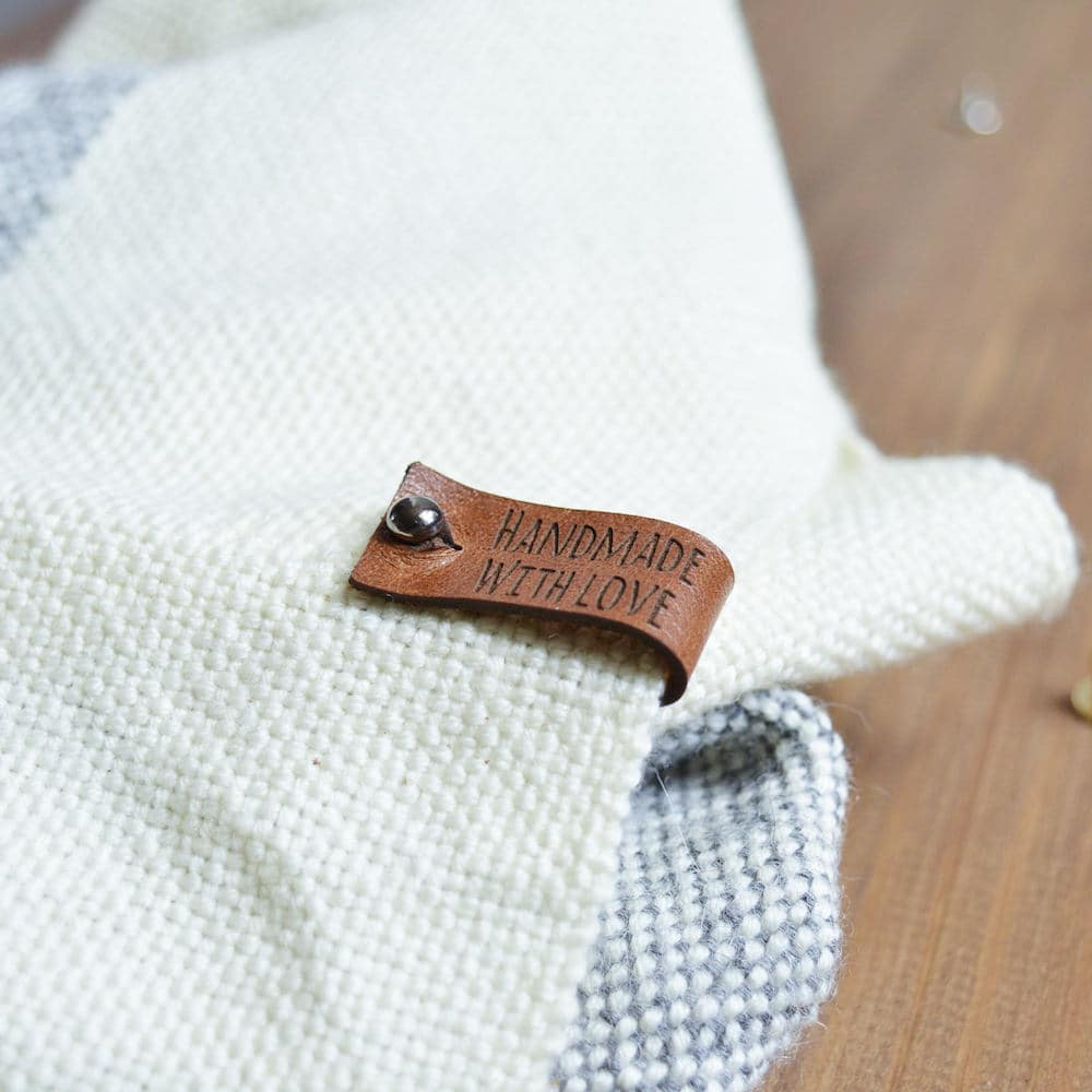 It is a photo of Satisfactory Personalised Knitting Labels Uk