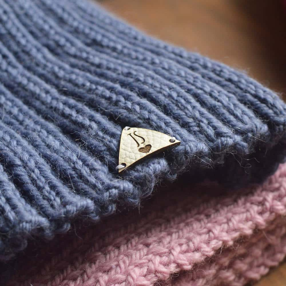 It is a picture of Modest Personalised Knitting Labels Uk