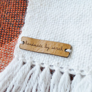 knitting leather tags - garment leather labels