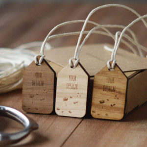 traditional wooden swing tags