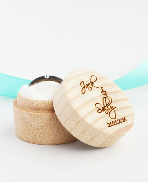 Personalized Wood Custom Ring