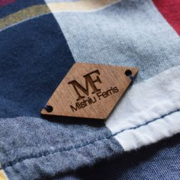 Walnut Custom Tags