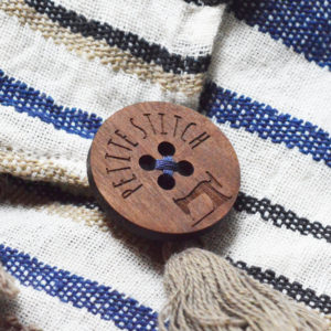Wood Buttons in Walnut