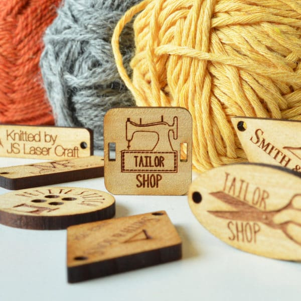 Wooden Tags