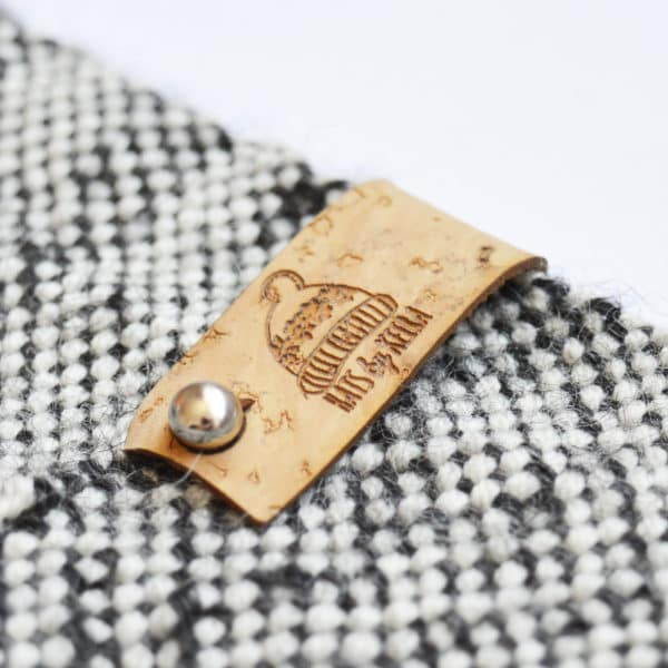 no sew cork leather tags